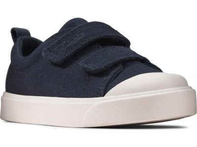 Clarks City Bright T 26149087 navy canvas