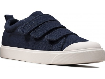 Clarks City Vibe K 26149114 navy canvas