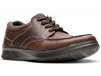 Clarks Cotrell Edge 26119803 brown oily