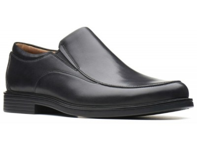 Clarks Un Aldric Walk 26137351 black leather