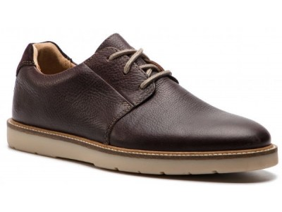 Clarks Grandin Plain 26141923 dark brown tumbled