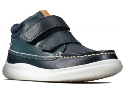 Clarks Crest Tuktu K 26144816 navy leather