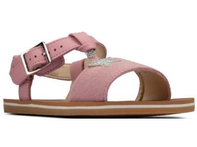 Clarks Finch summer K 26157641 light pink suede