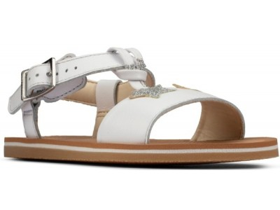 Clarks Finch summer K 26157643 white leather