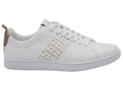 Lacoste carnaby evo 119 sfa wht/pnk