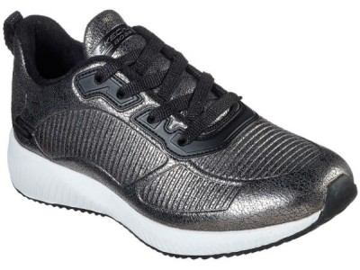 Skechers 33155 Bobs squad sparkle life pewter
