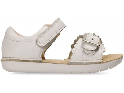 Clarks Ivy Flora 26133782 white leather