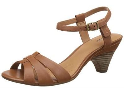 Clarks Owen Rebel tan leather 203580374