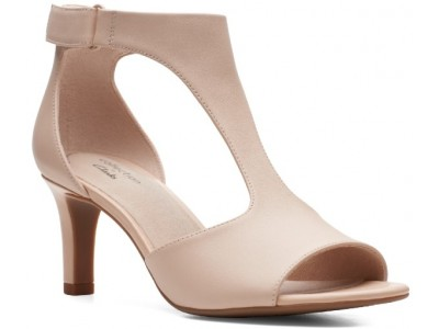 Clarks Alice Flame 26150092 blush leather