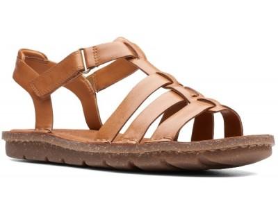 Clarks Blake Jewel tan leather 26141624