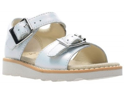 Clarks Crown Bloom T white leather 2614112