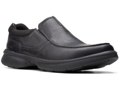Clarks Bradley Free 26153160 black tumbled leather