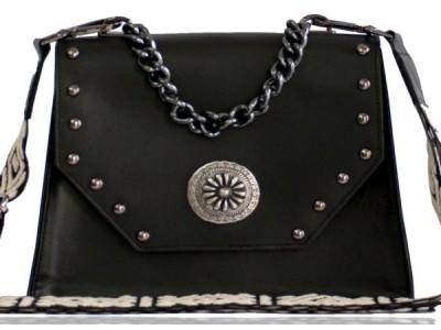 Bonendis Chiara Black Leather