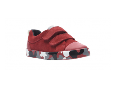 Clarks City Vine Lo red camo 26137750