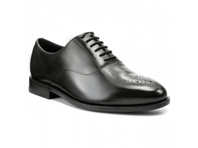 Clarks Ellis Vincent black leather 26127380
