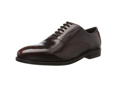 Clarks Ellis Vincent chestnut leather 26127381