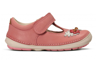 Clarks Softly Blossom baby pink leather 26133633