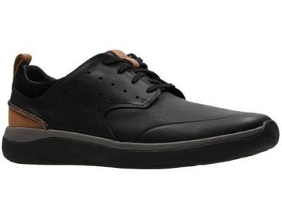 Clarks Garratt Lace black leather 26132299
