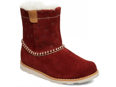 Clarks Crown Piper T 26143874 dark red