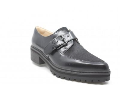 Clarks Anniston Fudge Black Combi Leather 2611069240240