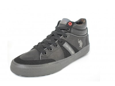 U.S. Polo Assn. NIGEL LEATHER blk