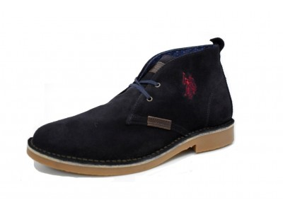 U.S. Polo Assn. Amadeus suede dark blue
