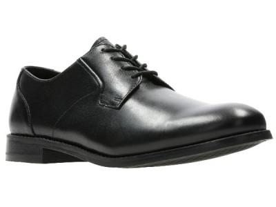 Clarks Edward Plain black leather 26139534