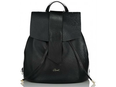 Axel Eloise flap backpack 1023-0241 003 black