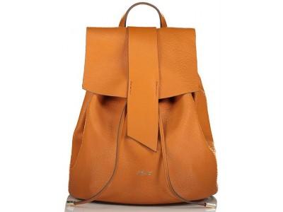 Axel Eloise flap backpack 1023-0241 camel