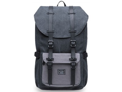 Kaukko Midnight Backpack 1035 black/grey
