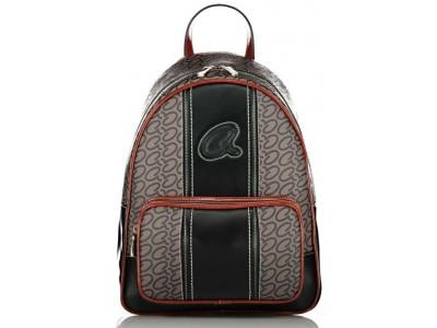 Axel Fern backpack front zip pocket 1023-0253 black