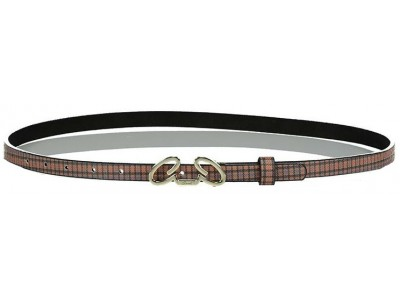 Axel Hezel belt check with Axel metal 1603-0468 camel