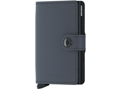 Secrid Miniwallet Matte Grey-Black