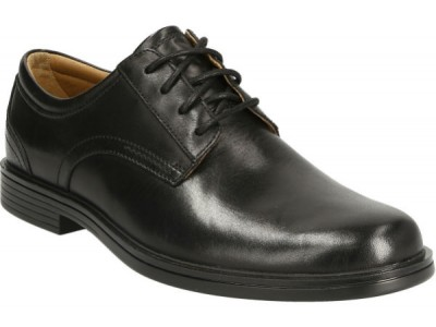 Clarks Un Aldric Lace 26132677 black leather