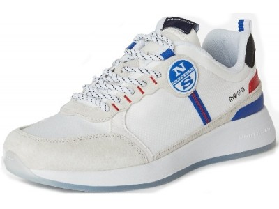 North Sails Recycled 651243 white-red-blue