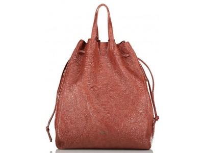Axel Ines handbag reversible 1010-2501 red wood