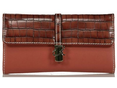 Axel Ivy wallet with metal closing 1101-1243 brown