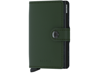 Secrid miniwallet  Matte Green-Black