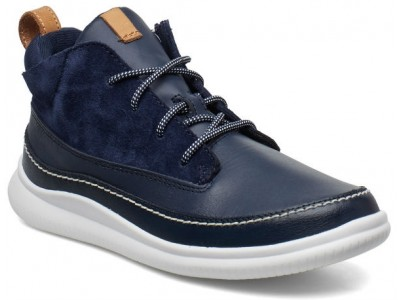 Clarks Cloud Air K 26141342 navy leather