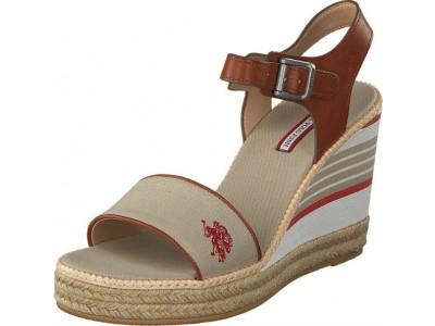 U.S Polo Assn. Nymphea Sand/Natur 4RT485
