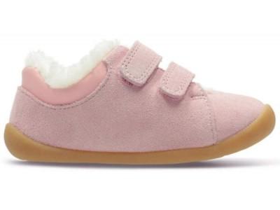 Clarks Roamer Craft T 26143459 pink suede