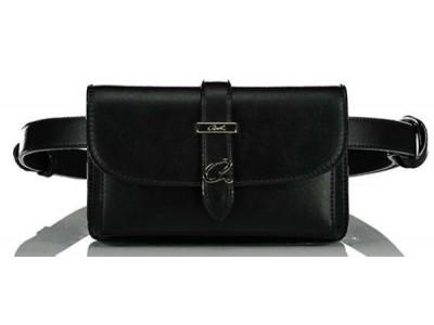 Axel Radella belt bag Axel metal logo 1021-0010 black