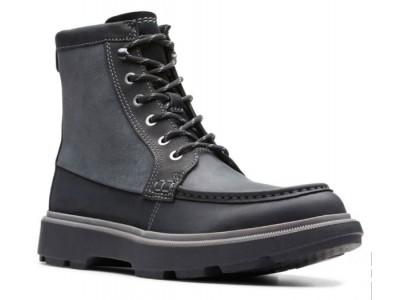 Clarks Dempsey Peak 26146396 black leather