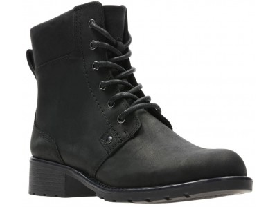 Clarks Orinoco Spice 26110938 black leather