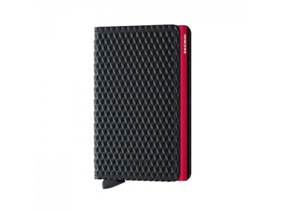Secrid Slimwallet cubic Black Red