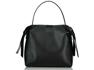 Axel Selma handbag with knot design 1010-2476 003 black