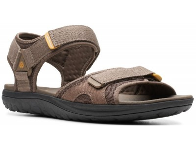 Clarks Step Beat Sun 26141464  brown textile