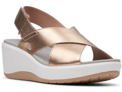 Clarks Step Cali Cove 26144123 rose gold