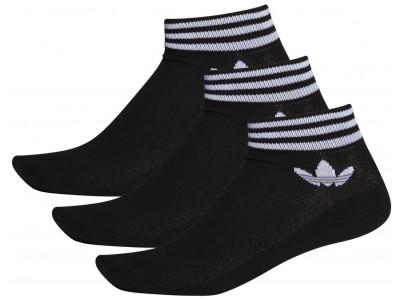Adidas EE1151 TREFOIL ANKLE SOCKS black/white