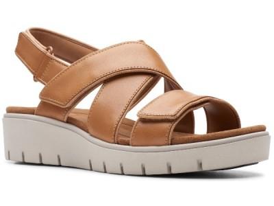 Clarks Un Karely Dew light tan leather 26141447